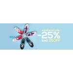 TaniSport: wyprzedaż 25% zniżki na obuwie, odzież i akcesoria sportowe