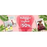 Taniaksiazka: do 50% zniżki na idealne książki na lato z Wydawnictwa Kobiecego