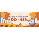 Taniaksiazka: do 45% rabatu na październikowe hity książkowe