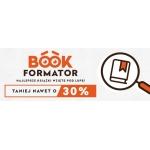 Taniaksiazka: 30% zniżki na wszystkie książki z Bookformatora