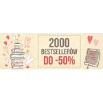 Taniaksiazka: do 50% zniżki na 2000 bestsellerów