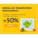 Taniaksiazka: do 50% rabatu na książki i zabawki dla dzieci