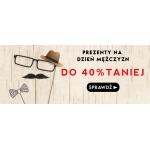 Taniaksiazka: do 40% zniżki na książkowe prezenty na Dzień Mężczyzn