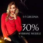 Taranko: Mikołajkowa Promocja 30% na wybrane modele