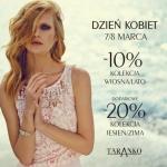 Taranko: 10% i 20% zniżki z okazji Dnia Kobiet