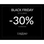Black Friday w Taranko: 30% zniżki na wszystko