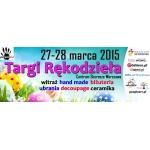 Targi Rękodzieła w warszawskim centrum handlowym Skorosze 27-28 marca 2015