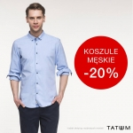 Tatuum: 20% promocja na koszule męskie