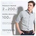 Tatuum: promocja na koszule męskie