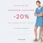 Tatuum: weekend zakupów z 20% zniżką