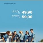 Terranova: bluzy od 49,9 zł, jeansy 59,9 zł