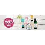 The Body Shop: 50% rabatu na drugi kosmetyk do twarzy