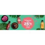 The Body Shop: 25% zniżki na kosmetyki do pielęgnacji ciała