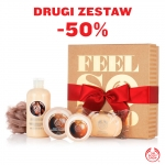 The Body Shop: drugi zestaw 50% taniej