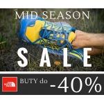 The North Face: wyprzedaż butów do 40% zniżki