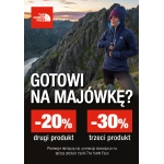 The North Face: 20% zniżki na drugi produkt, 30% zniżki na trzeci produkt