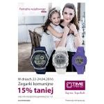 Time Trend: 15% zniżki na zegarki komunijne