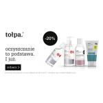 Tołpa: 20% rabatu na kosmetyki do oczyszczania