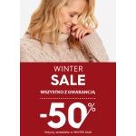 Top Secret: zimowa wyprzedaż minimum 50% rabatu na wszystko
