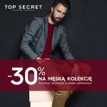 Top Secret: 30% zniżki na kolekcję męską