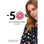 Top Secret: 50% zniżki na drugą sztukę z kategorii Sale