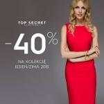 Top Secret: 40% zniżki na kolekcję jesień/zima 2015