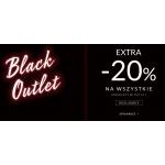 Top Secret: Black Outlet extra 20% rabatu na wszystkie produkty w outlet