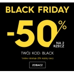 Black Friday Top Secret: 50% zniżki na drugą rzecz