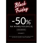 Top Secret: Black Friday 50% rabatu na drugą sztukę odzieży damskiej i męskiej