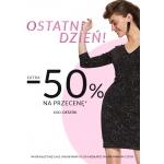Top Secret: extra 50% rabatu na odzież damską i męską z przeceny