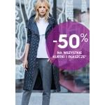 Top Secret: 50% zniżki na kurtki i płaszcze