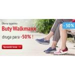Top Shop: 50% zniżki na drugą parę butów WalkMaxx