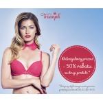 Triumph: z okazji Walentynek 50% rabatu na drugi produkt