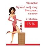 Triumph: wymień stary biustonosz na nowy