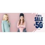 TuSzyte: wyprzedaż do 50% zniżki na odzież dla dzieci