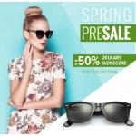 Twoje Soczewki: wyprzedaż do 50% zniżki na okulary słoneczne