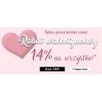 Ulla Popken: Walentynkowa Promocja 14% zniżki na odzież dla puszystych