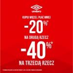 Umbro: promocja do 40% zniżki