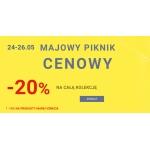 Unisono: Majowy Piknik Cenowy 20% rabatu na całą kolekcję damską