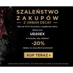 Urban Decay: 20% zniżki na wszystkie kosmetyki