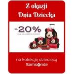Valentini: 20% zniżki na kolekcję dziecięcą Samsonite