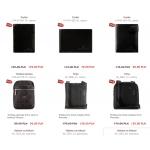 Vip Collection: wyprzedaż do 80% zniżki na torebki, portfele, etui, kosmetyczki, paski, rękawiczki