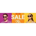 Vision Express: wyprzedaż do 70% rabatu na okulary przeciwsłoneczne