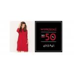 Vissavi: wyprzedaż do 50% rabatu na odzież damską m.in. sukienki na każdą okazją