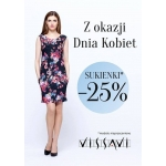 Vissavi: 25% zniżki na sukienki z okazji Dnia Kobiet