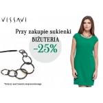 Vissavi: 25% zniżki na biżuterię przy zakupie sukienki