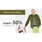 Vistula: 50% zniżki na cały asortyment odzieży męskiej