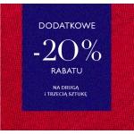 Vistula: dodatkowe 20% rabatu na drugą i trzecią sztukę z wyprzedaży do 70%