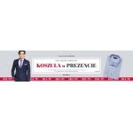 Vistula: przy zakupie garnituru koszula w prezencie