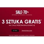 Vistula: 3 sztuka Gratis na całą przecenioną kolekcję